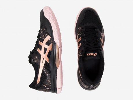 Damen Laufschuhe GEL-FLARE 7, BLACK/ROSE GOLD, 7.5