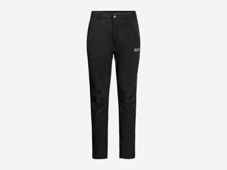 Herren Outdoorhose ZENON SOFTSHELL PANTS, black, 54