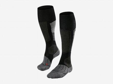 Damen Socken  SK1, black-mix, 35-36