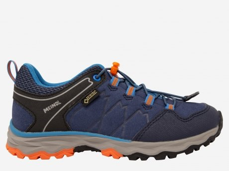 Kinder Outdoorschuhe Ontario Junior GTX, marine/orange, 35