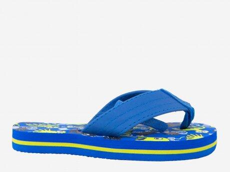 Kinder Badeschuhe Kim 9 INF, BLUE/NAVY/YELLOW, 24
