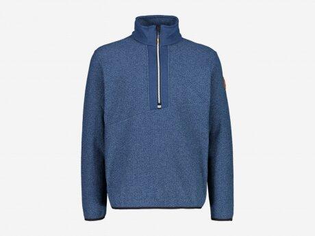 Herren Sweatshirt SWEAT, BLUE INK MEL.-NERO, 48