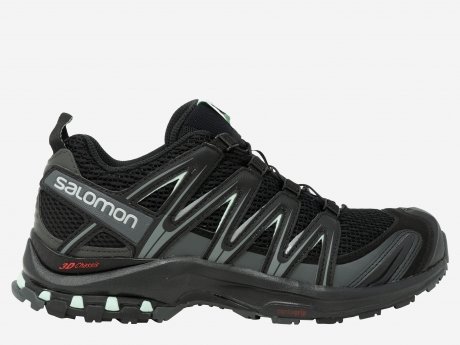 Damen Outdoorschuhe XA PRO 3D W, BLACK/MAGNET/FAIR AQUA, 6.5