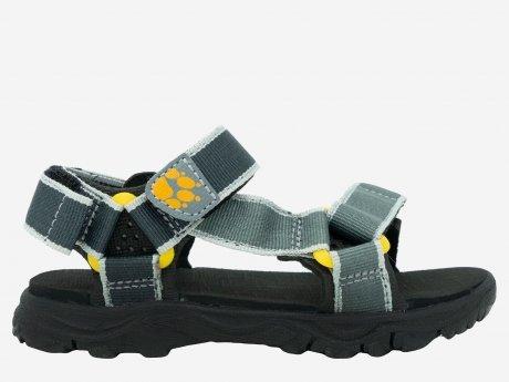 Kinder Sandalen Seven Seas 2, burly yellow XT, 26