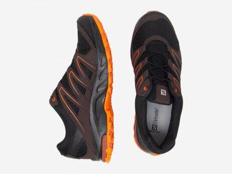 Herren Outdoorschuhe SOLLIA GTX, Black/Chocolate Plum/Red Orange, 9