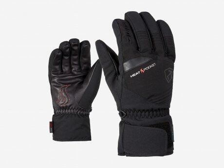 Herren Handschuhe Glim ASR, black, 10.5