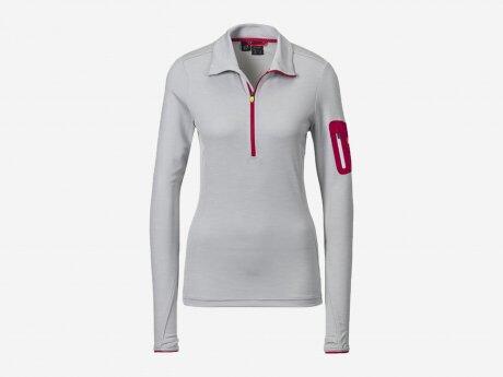 Damen Sweatshirt Rolli Tampo, MÉLANGE/GREY LIGHT/R, 48