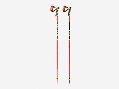 Kinder Skistöcke WCR TBS SL 3D, neonrot, 120