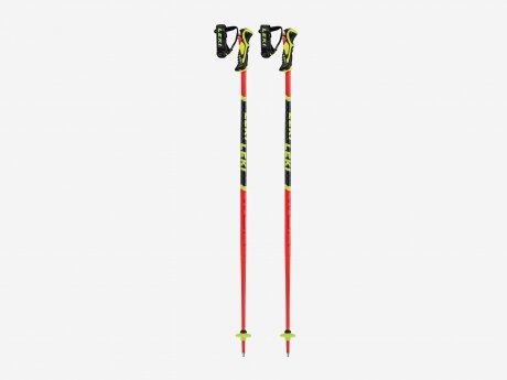 Kinder Skistöcke WCR LITE SL 3D, neonrot, 120