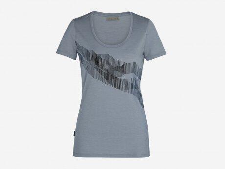 Damen T-Shirt Tech Lite, GRAVEL, M
