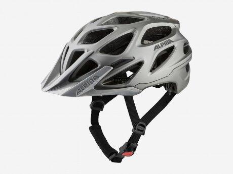 Unisex Fahrradhelm MYTHOS 3.0 LE MTB, dark-silver matt, 57