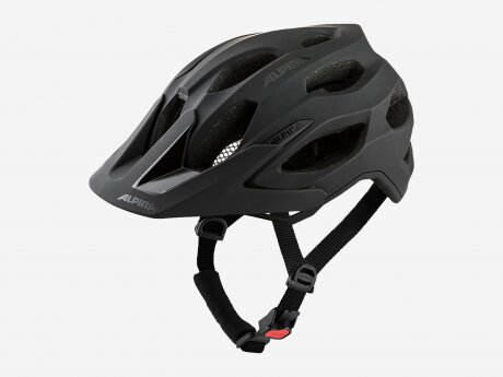Unisex Fahrradhelm CARAPAX 2.0 MTB, black matt, 52