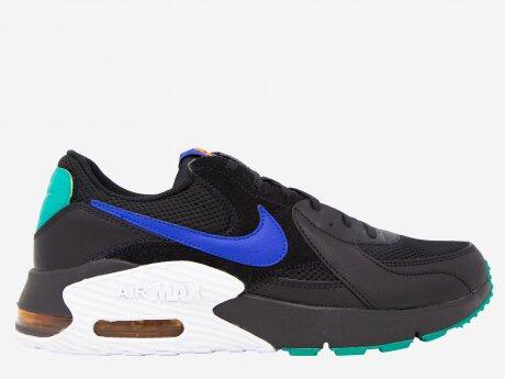 Herren Sneaker Air Max Excee, BLACK/HYPER BLUE-NEPTUNE GREEN, 8
