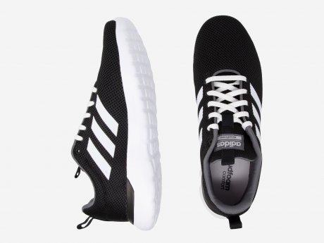 Herren Sneaker Lite Racer CLN, CBLACK/FTWWHT/GREFOU, 10