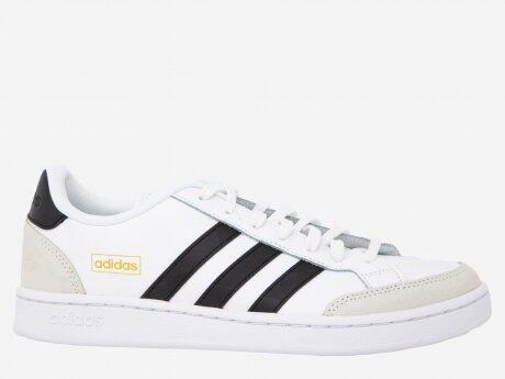 Herren Sneaker GRAND COURT SE, FTWWHT/CBLACK/ORBGRY, 9.5