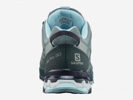 Damen Laufschuhe XA PRO 3D, Balsam Green/Green Gables/Pastel Tu, 4.5