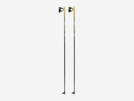 Unisex Langlaufstöcke Skistöcke CC 300, schw.-neongelb, 150