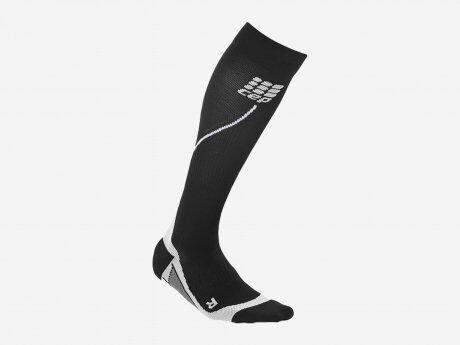 Herren Socken Pro+ Run 2.0, black/grey, IV