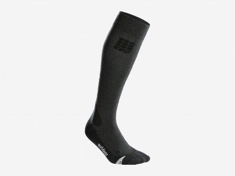 Herren Socken Merino, grey/black, V